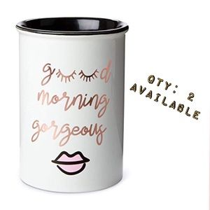 Other - 2️⃣left! GoodMorningGorgeous👄ceramic brush holder